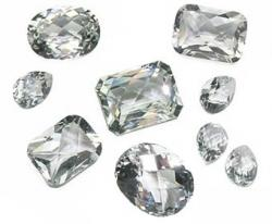 diamond white topaz