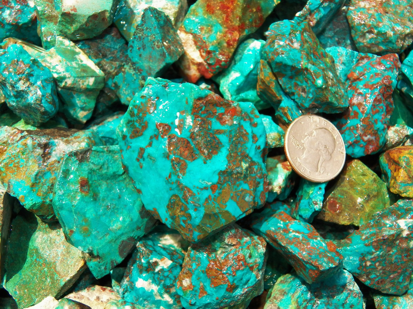 Rough Chrysocolla Turquoise