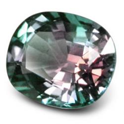 faceted alexandrite