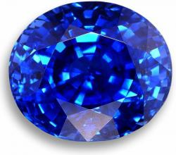 faceted sapphire