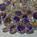 Faceted Mystic Mercury Topaz